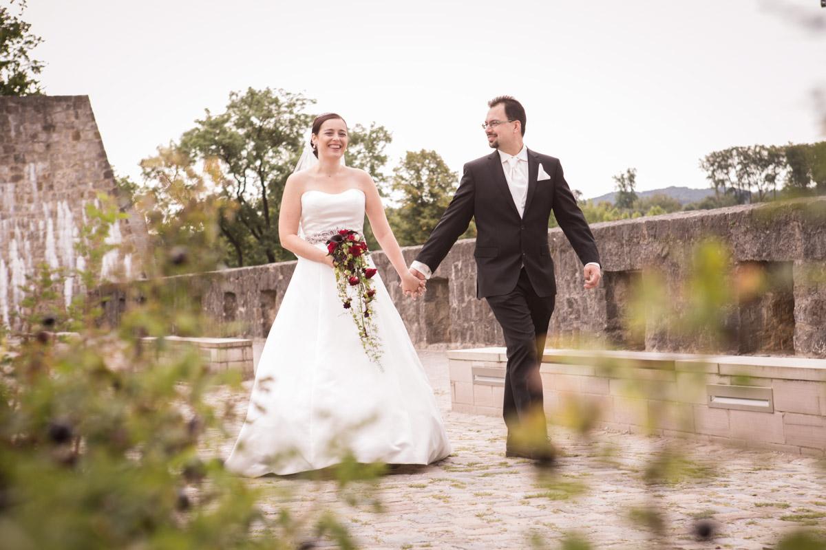 Sparrenburg, Bielefeld, Braut, Bräutigam, Heirat, Standesamt, Aussicht, Blick, Weite, Entfernung, Übersicht, Kirche, Historie
