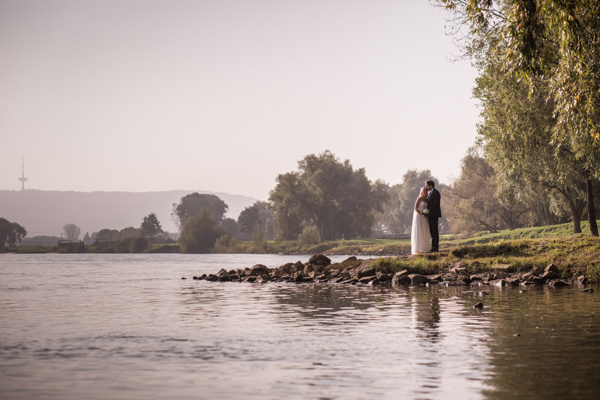 Minden, Weser, Kaiser-Wilhelm, Fotoshooting, Brücke, Wasser, Braut, Weddingday, On Location, Bräutigam