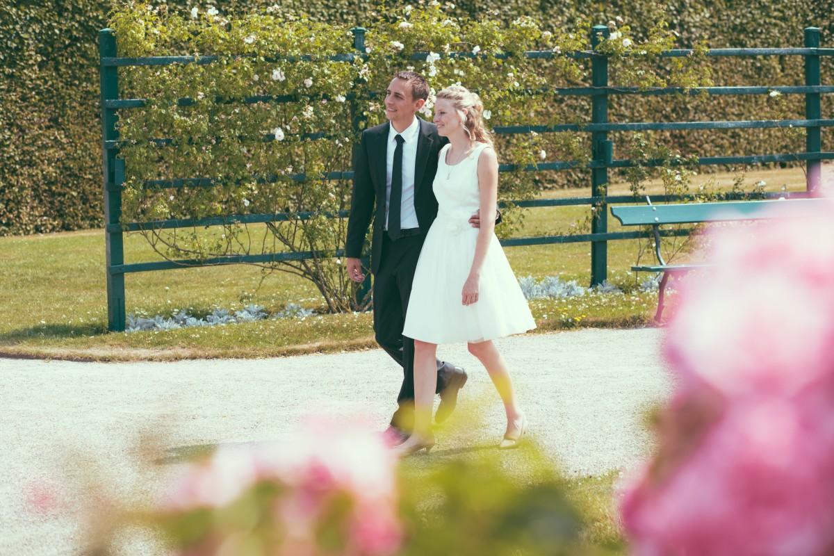 Sven, Jennifer, Orangerie, Gütersloh, Park, Sonne, Sommer, warm, toll, Paar, Braut, Bräutigam, Trauung, Ringe, Ringtausch, Wedding Day Bielefeld
