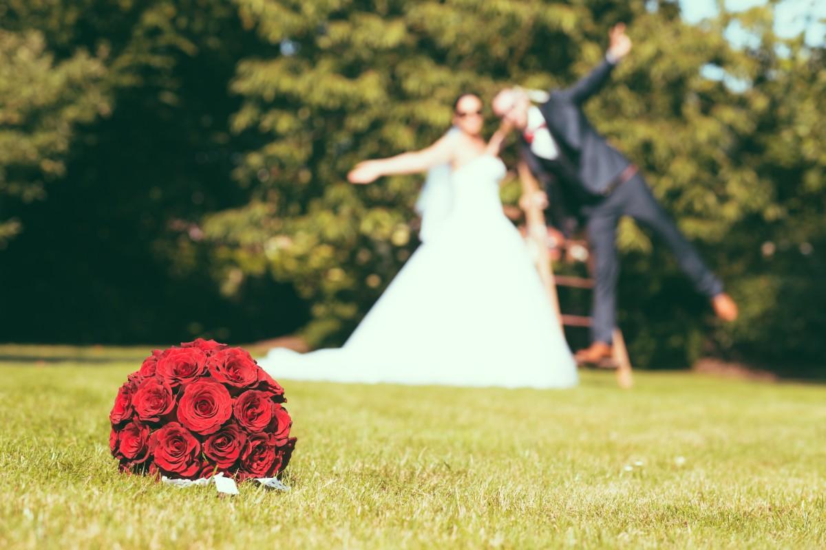 Koljan, Katja, Braut, Bräutigam, Rock n Roll, Rockabilly, Feier, Fete, Hochzeit, Gruppe, Fotoshooting, Wedding Day,  Bielefeld, Herford,